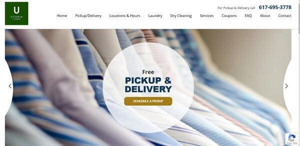 Dry Cleaner Engages WSI for Website Redesign and SEO